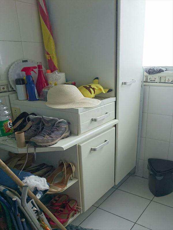 apartamento em santos bairro estuário - v7808