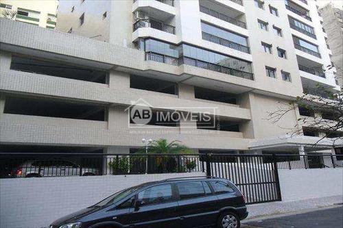 apartamento em santos bairro josé menino - v2232