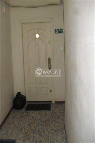 apartamento em santos bairro josé menino - v2516