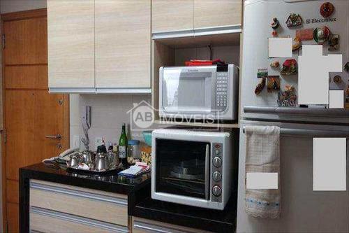 apartamento em santos bairro josé menino - v2631
