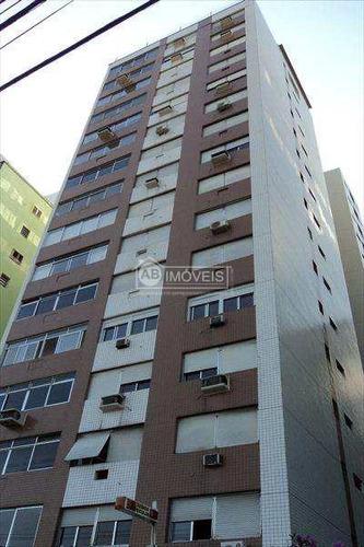apartamento em santos bairro josé menino - v2645
