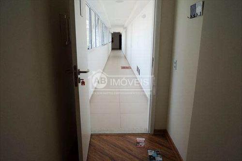 apartamento em santos bairro josé menino - v2832