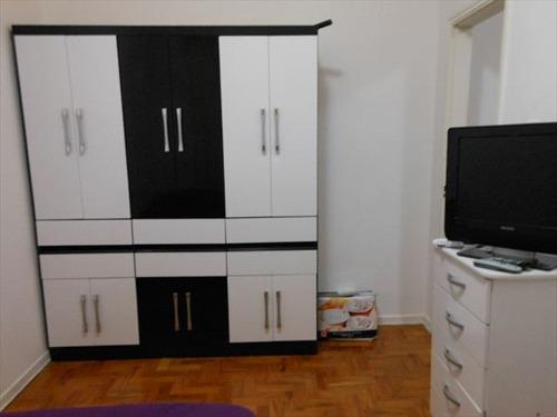 apartamento em santos, no bairro aparecida - 2 dormitórios