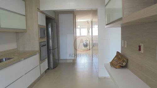 apartamento em santos, no bairro embaré com 3 dormitórios para alugar, 148 m² por r$ 12.000/mês - santos/sp - ap8779
