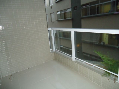 apartamento em santos, no bairro jose menino - 3 dormitórios