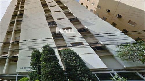 apartamento em são josé do rio preto bairro centro - v443