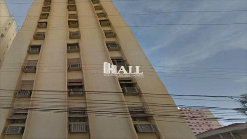 apartamento em são josé do rio preto bairro centro - v621