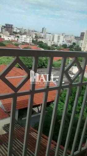 apartamento em são josé do rio preto bairro jardim ouro verde - v252