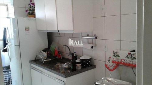 apartamento em são josé do rio preto bairro residencial macedo teles i - v135