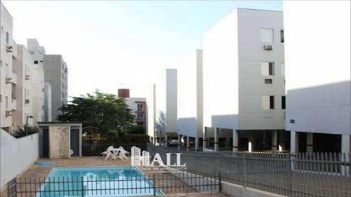 apartamento em são josé do rio preto bairro vila itália - v1256