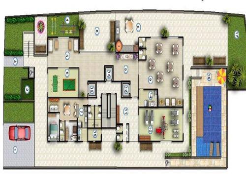 apartamento em são paulo - 113.0 m2 - código: 1377 - 1377