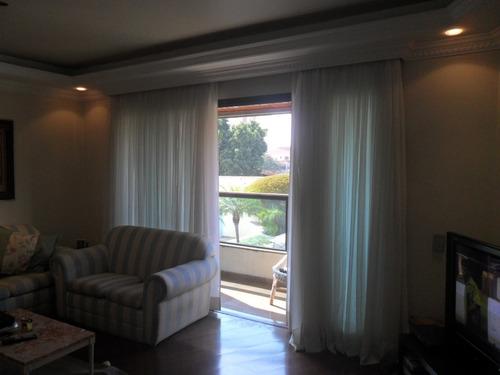 apartamento em são paulo - 132.0 m2 - código: 181 - 181