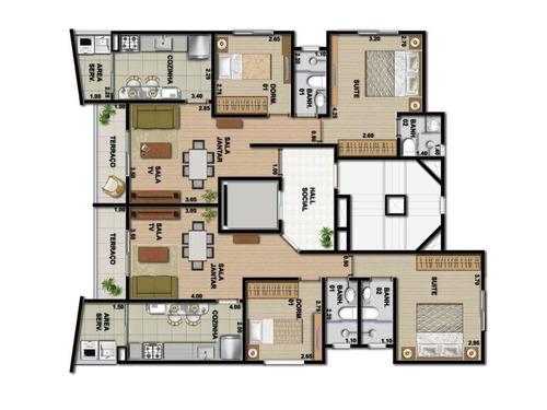 apartamento em são paulo - 61.0 m2 - código: 1337 - 1337