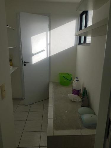 apartamento em torre, recife/pe de 96m² 3 quartos para locação r$ 2.500,00/mes - ap269895