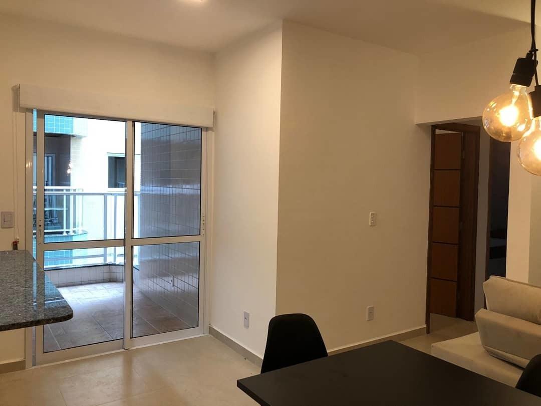 apartamento em ubatuba - bairro itaguá mobiliado