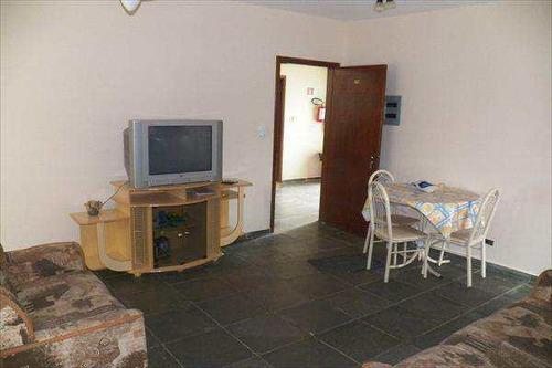 apartamento em ubatuba bairro praia sape - v322