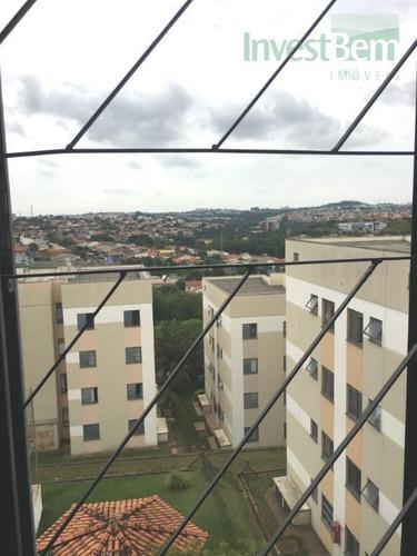 apartamento em valinhos - condomínio alvorada i - valinhos/sp - ap0274