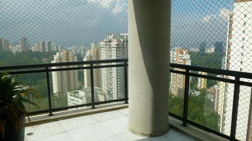 apartamento em vila andrade, são paulo/sp de 184m² 3 quartos para locação r$ 4.500,00/mes - ap226384