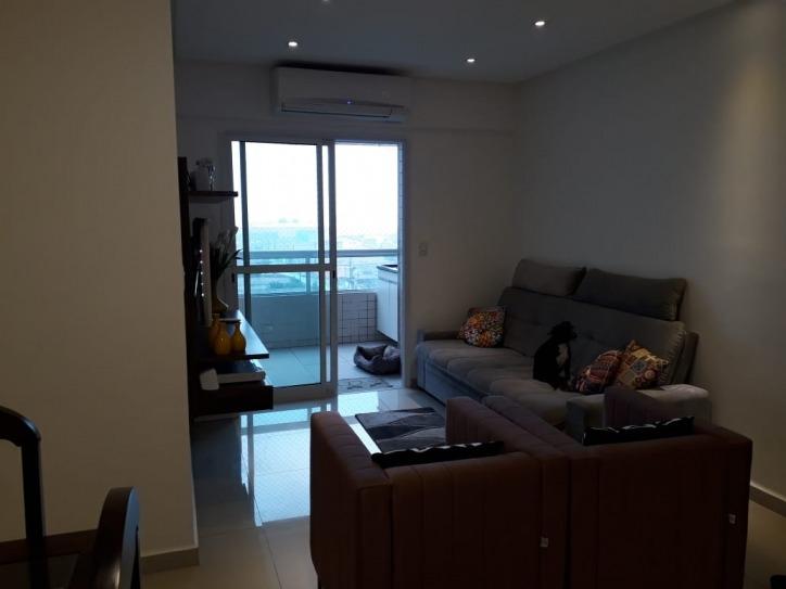 apartamento em vila guilhermina 2 dormitórios mobiliado
