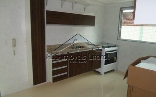apartamento em vila tupi na praia grande - ap 565