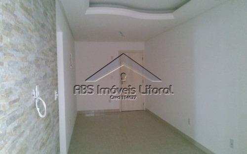 apartamento em vila tupi praia grande - ap484