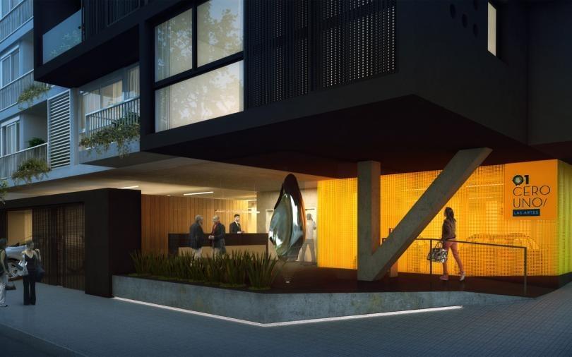 apartamento en 01 las artes!