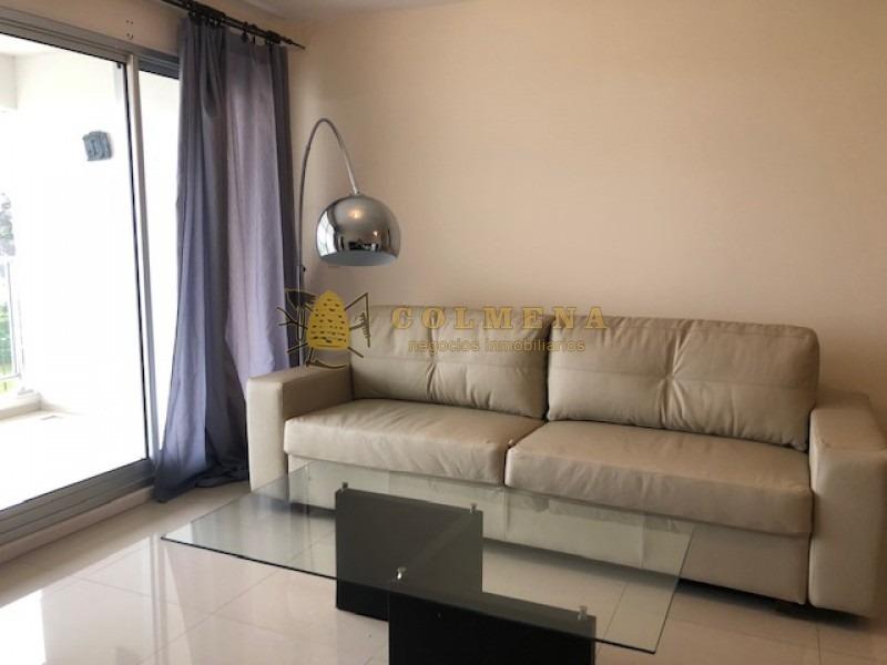 apartamento en alquiler - complejo de la parada 18 mansa, de 2 dor 2 baños, balcon y cochera techada - consulte!!!!!!!!-ref:2373