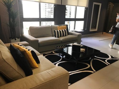 apartamento en alquiler de una habitación amueblado
