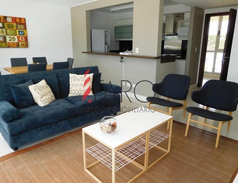 apartamento en brava 1 dormitorio 2 baños c/garage-ref:34595