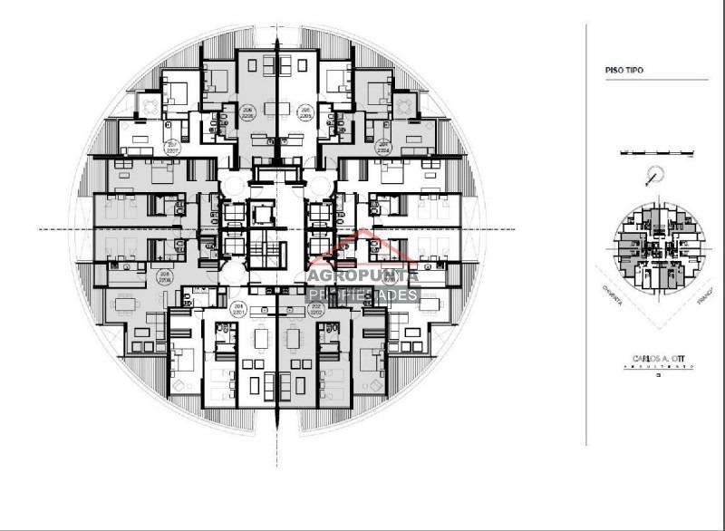 apartamento en brava, 1 dormitorios *-ref:2539