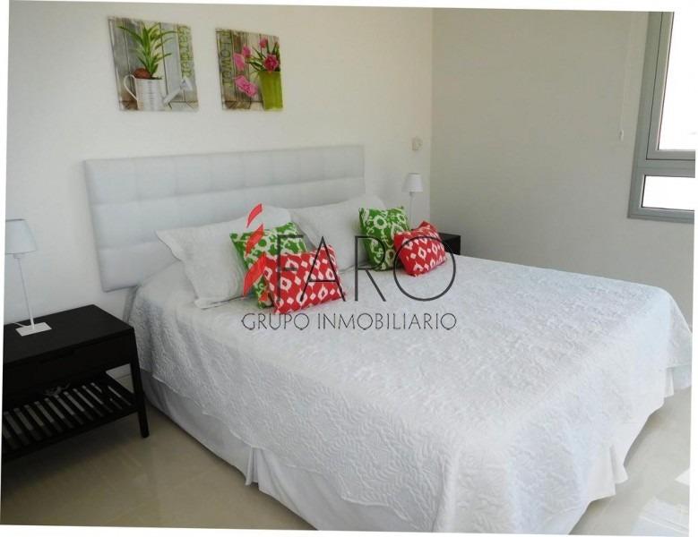 apartamento en brava 2 dormitorios 2 baños, garage- ref: 34606