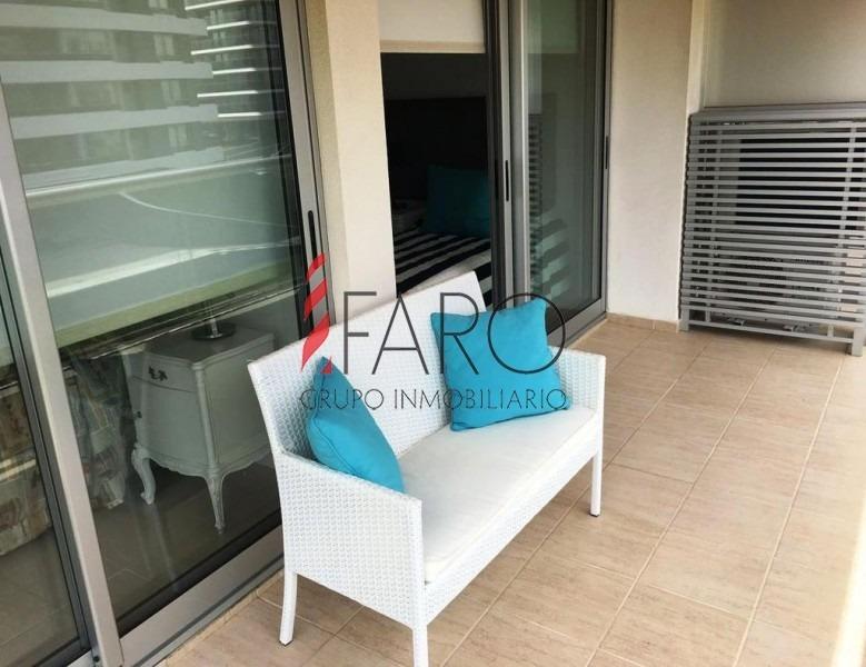 apartamento en brava 2 dormitorios terraza garage- ref: 34642