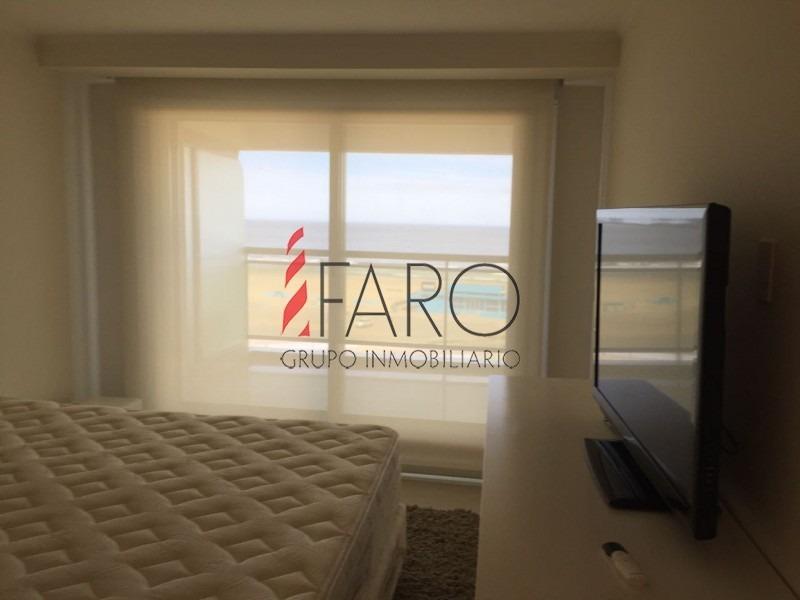 apartamento en brava 3 dormitorios en suite con todos los servicios- ref: 34478