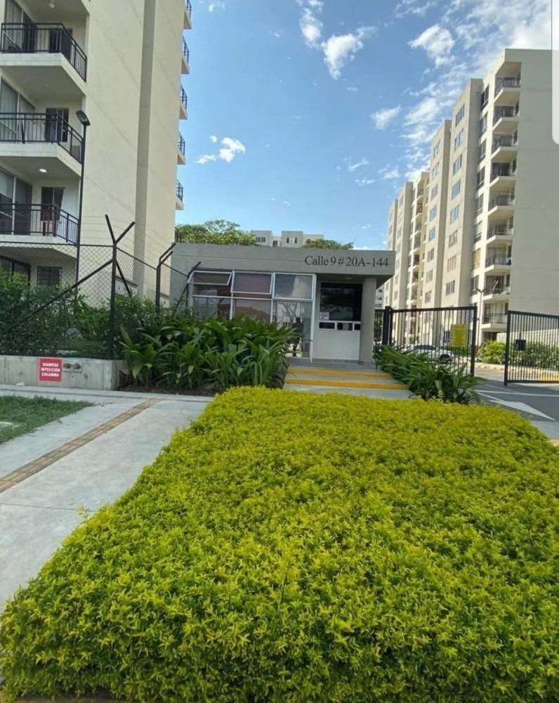 apartamento en ciudad guabinas cali - yumbo