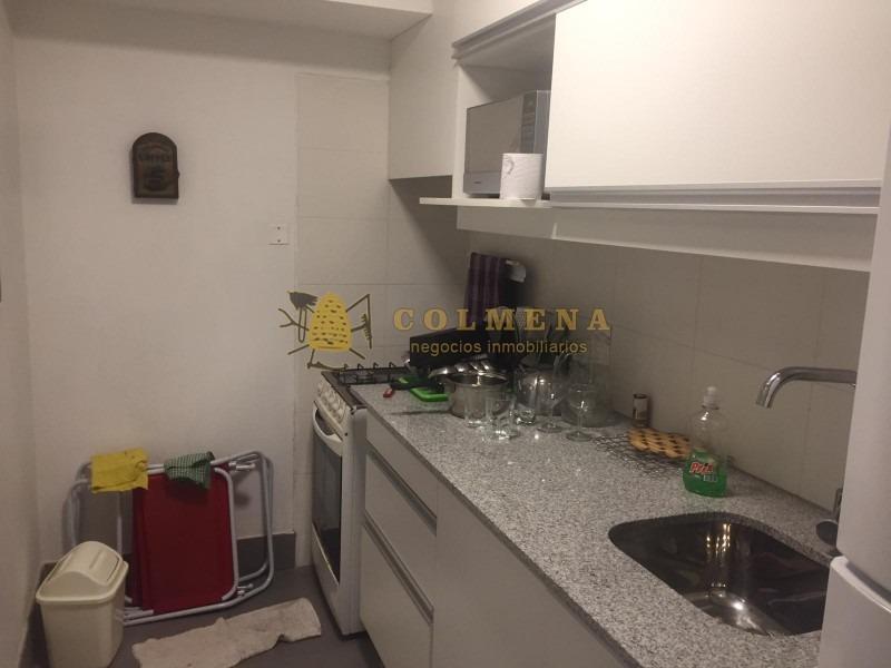 apartamento en de 2 dormitorios 1 baño con cochera en barrio arcobaleno. consulte- ref: 1287