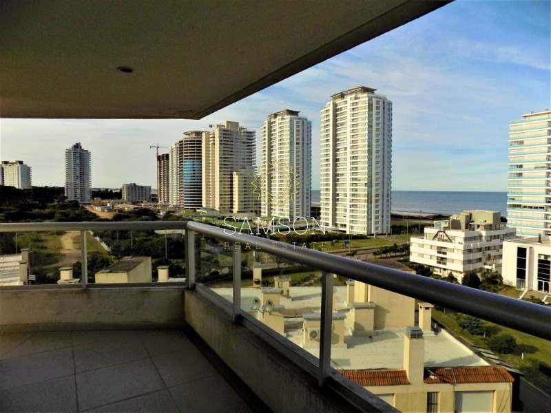 apartamento en edificio brava biarritz, playa brava, punta del este- ref: 91