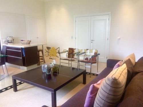 apartamento en el centro de la peninsula en edifico de muy bueno. - ref: 1137