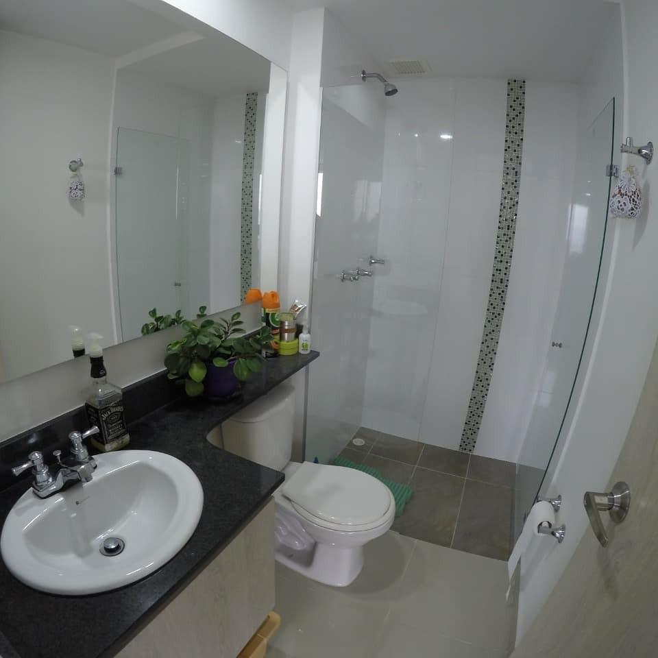 apartamento en envigado 2 habitación + estudio o 3er cuarto