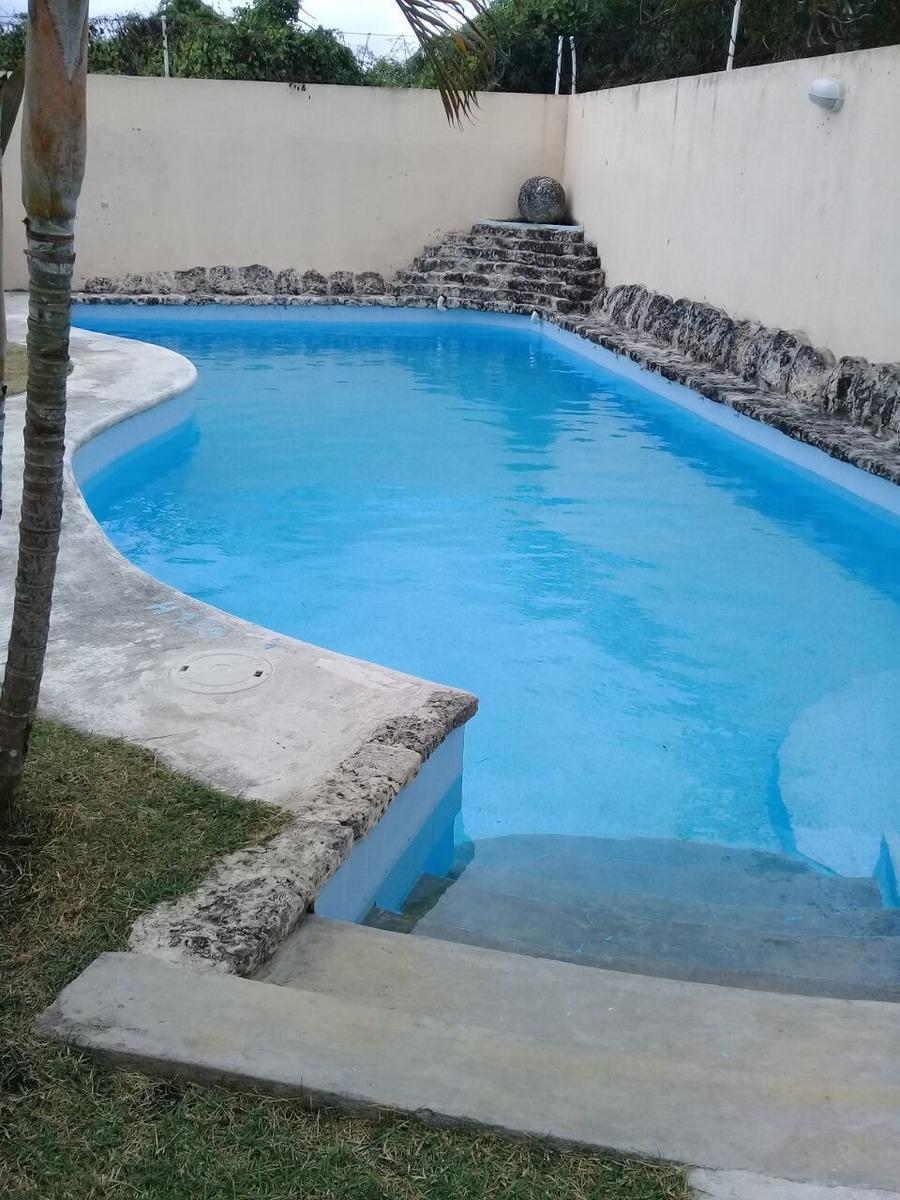 apartamento en juan dolio con piscina cerca de la playa