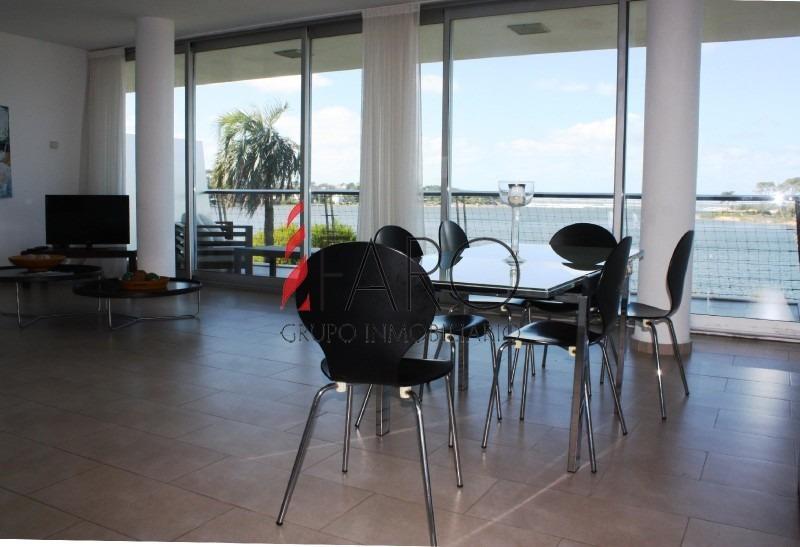 apartamento en la barra 3 dormitorios con terraza y cocheras- ref: 36146