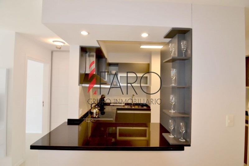 apartamento en la brava 2 y 1/2 dormitorios con terraza y garage-ref:33843