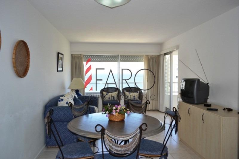 apartamento en la mansa 1 y 1/2 dormitorios con balcón y garage-ref:33570
