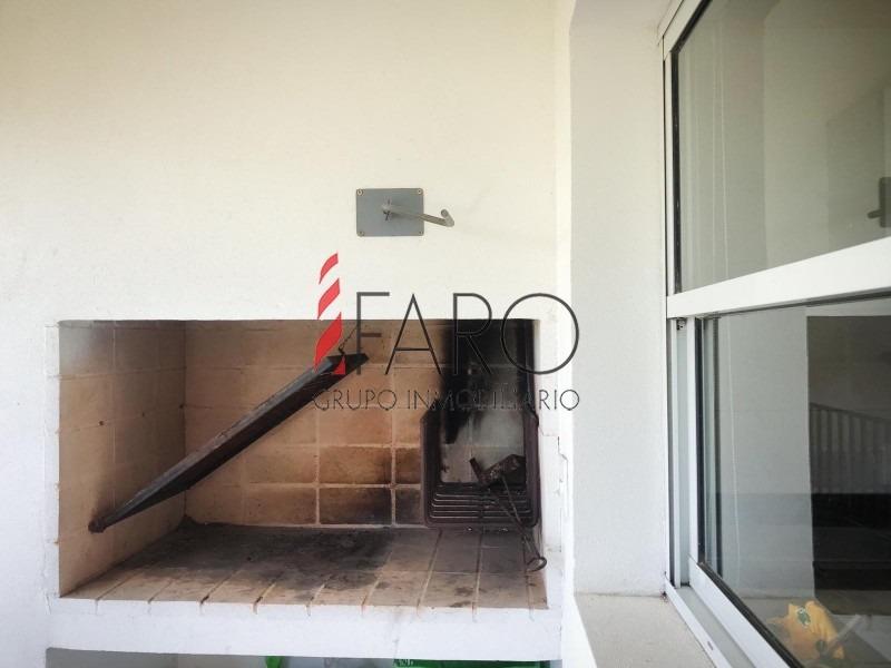 apartamento en la mansa 2 dormitorios con terraza y parrillero-ref:36494