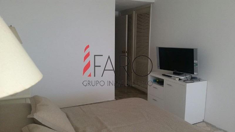 apartamento en la mansa 3 dormitorios y servicio con terraza cerrada y garage-ref:36187
