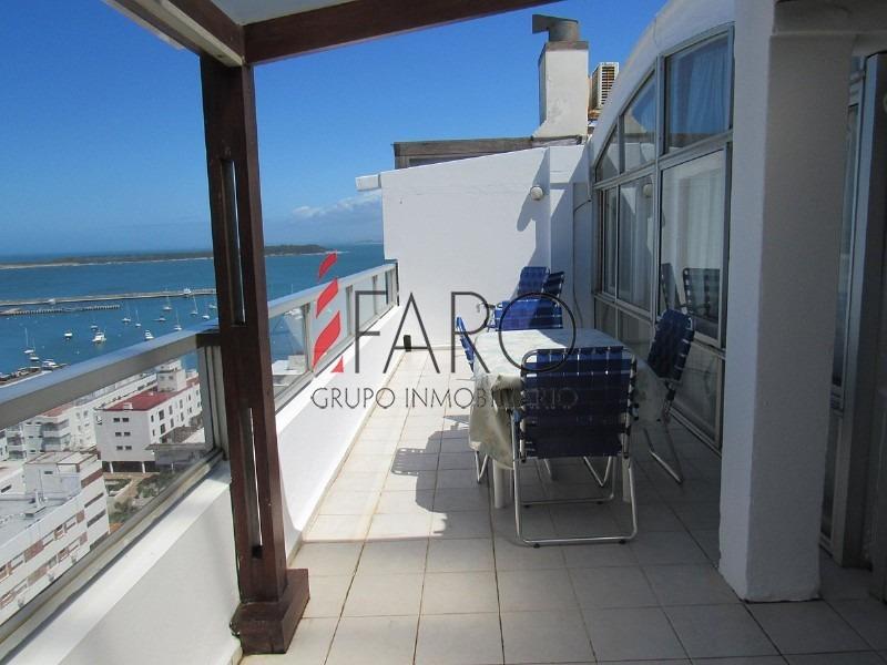 apartamento en la península 2 dormitorios con terraza y parrillero- ref: 35996