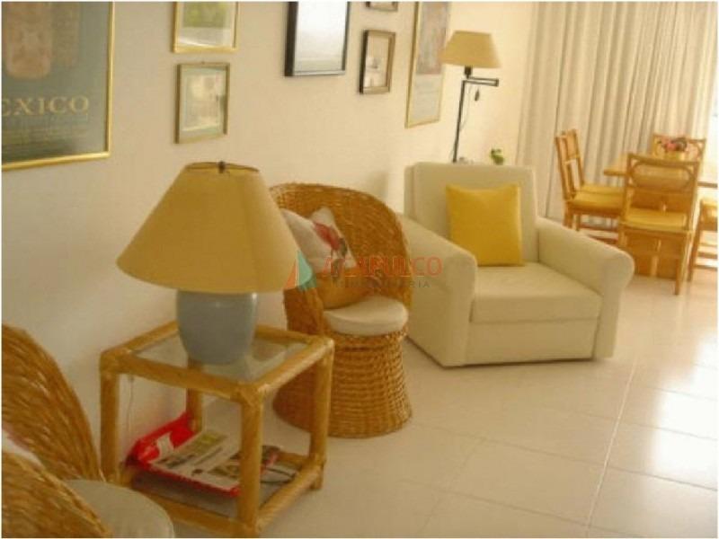 apartamento en mansa, 1 dormitorio- ref: 1859