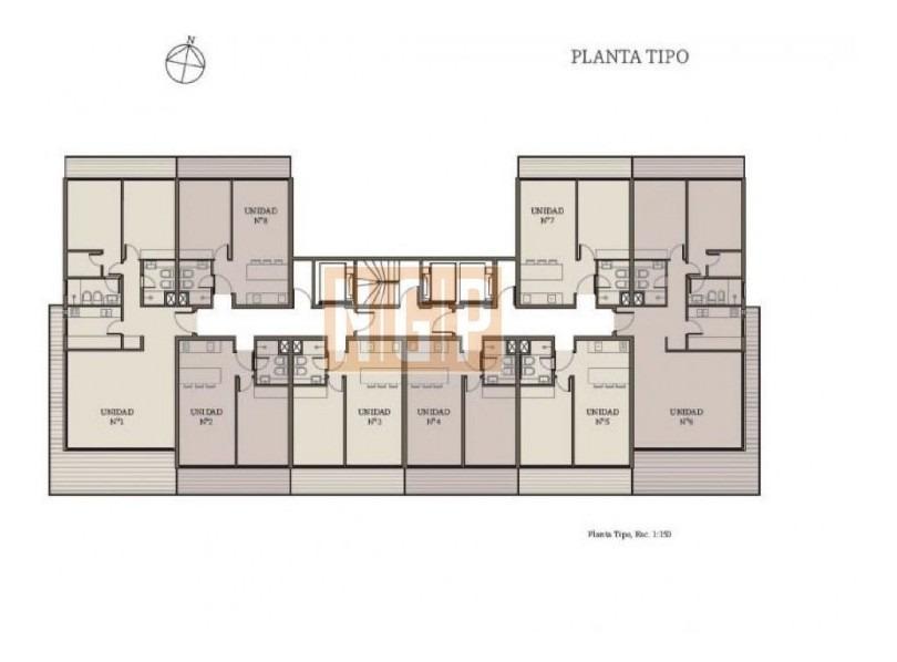 apartamento en mansa, 1 dormitorios *-ref:18528
