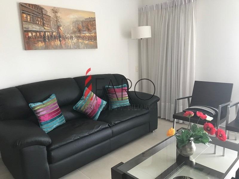 apartamento en mansa 2 dormitorios con terraza y parrillero-ref:36930