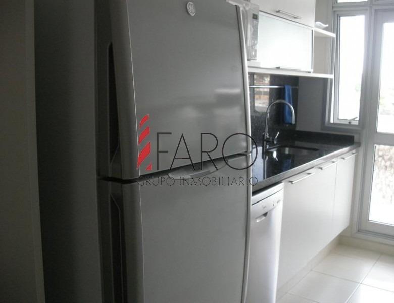 apartamento en mansa 2 dormitorios terraza garage-ref:32766