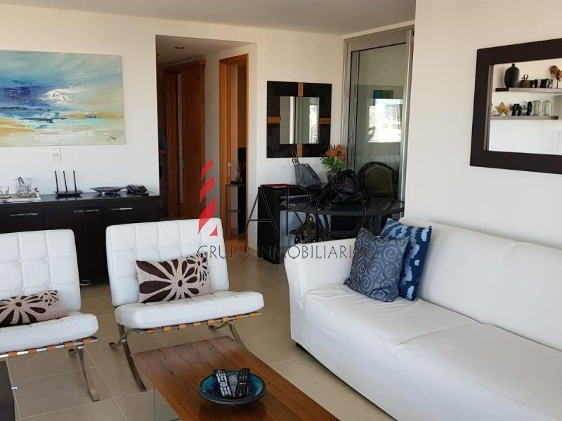 apartamento en mansa 3 dormitorios con garage-ref:34111